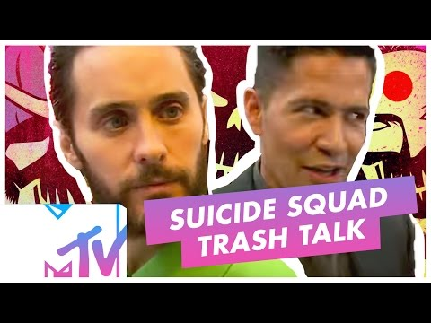 Suicide Squad TRASH TALK Each Other At Movie Premiere | MTV