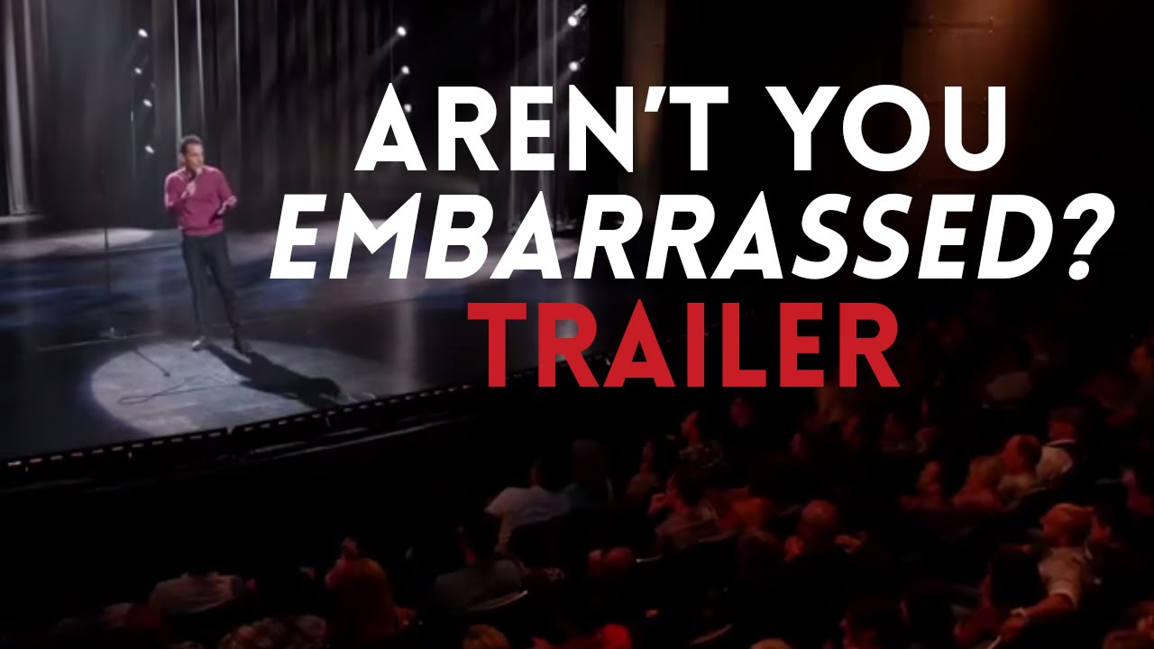 "Sebastian Maniscalco's ""Aren't You Embarrassed?"" Official Trailer."