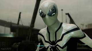Spider-Man vs Rhino and Scorpion (Future Foundation Suit Walkthrough) - Marvel