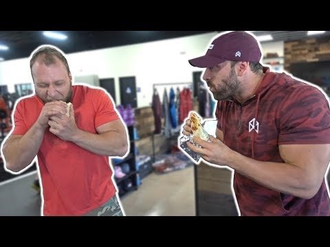 Burrito Eat Off vs Bradley Martyn!