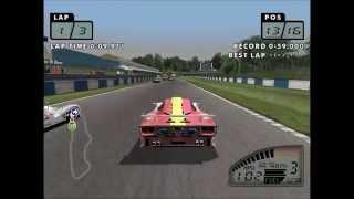 Test Drive Le Mans Sega Dreamcast New Video 60FPS