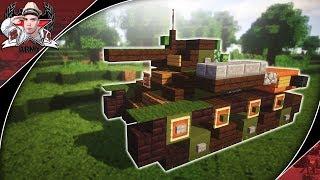 Minecraft: WW2 T-70 | Light Tank Tutorial