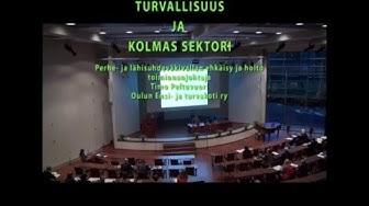 Toiminnanjohtaja Timo Peltovuori, Oulun ensi- ja turvakoti ry