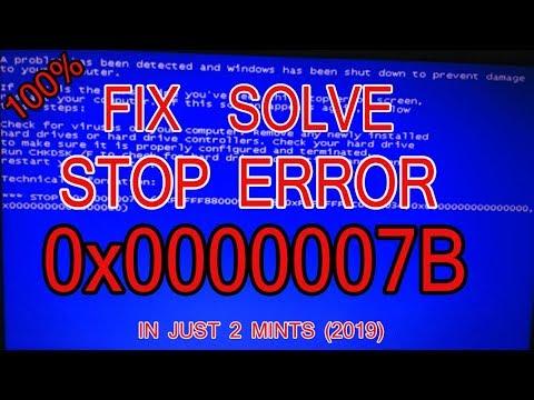 how to fix error 0x00007b - Myhiton