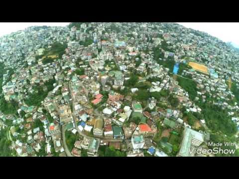 Aizawl Aerial view