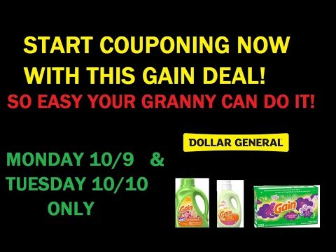 Start Couponing Now with this deal at Dollar General 10/9/17--Beginners Guide to Couponing