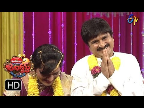 Rocket Raghava Performance | Jabardasth |  25th January 2018   | ETV  Telugu