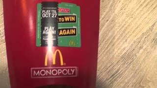 McDonalds Monopoly part 2 2014
