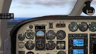 X-Plane 10 / Folge 26 / Cessna 340 / Abflug einer SID