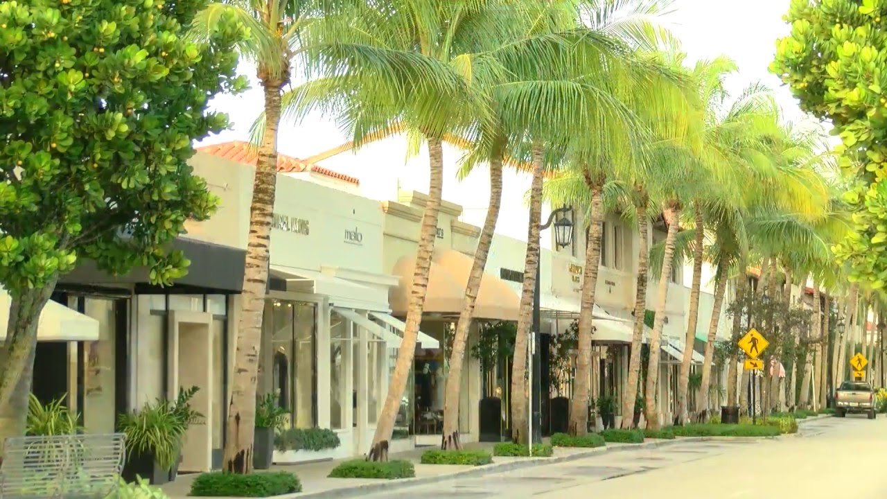 Worth Avenue Palm Beach Florida