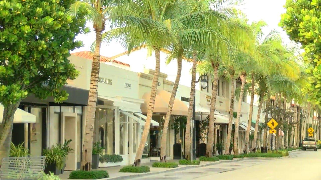 Worth Avenue Palm Beach Florida You
