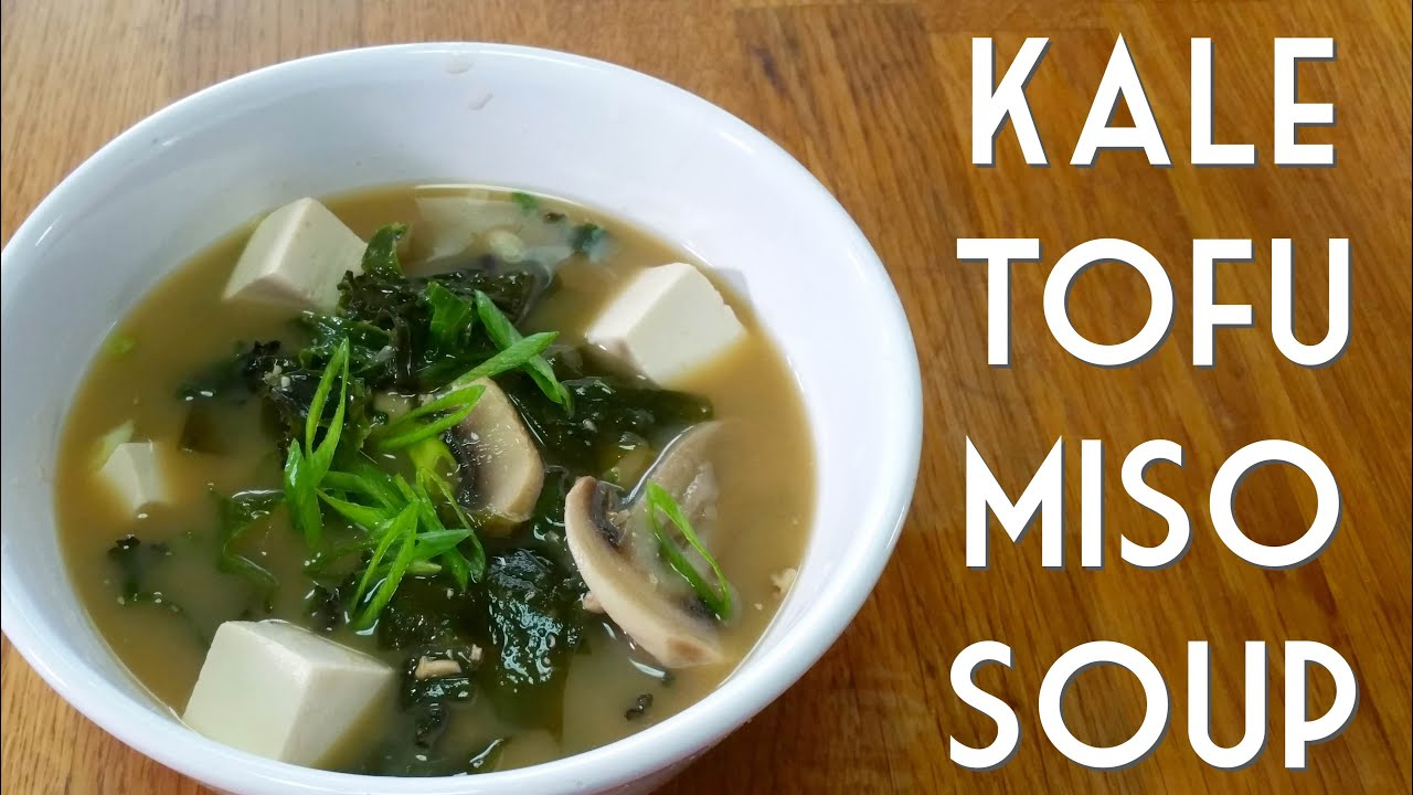 vinaigrette miso soup with tofu and kale appetite for china miso ...