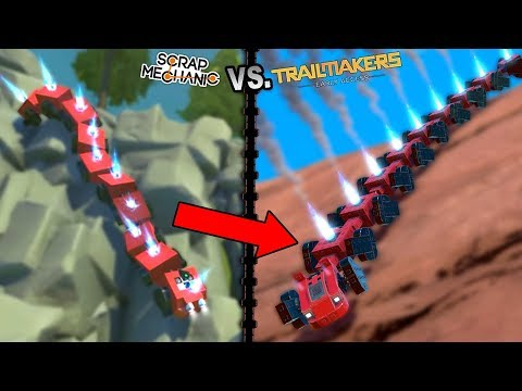 I Copied Kan's Centipede Perfectly Except in the Wrong Game - Trailmakers Early Access Gameplay  