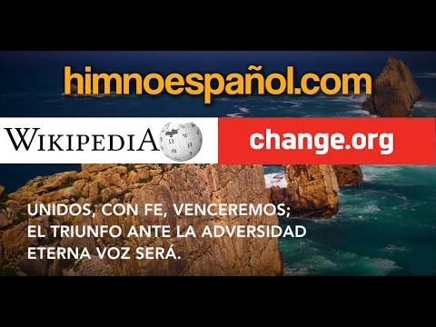 Letra del HIMNO de ESPAÑA admitida por el CONGRESO (autor: Víctor Lago) - himnoespañol.com