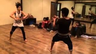 Shyam & swarali sword flight dance practice