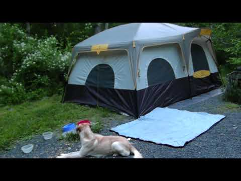 Camp Site High Point State Park NJ - YouTube