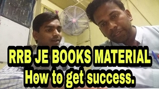 RRB JE study material to get success quickly, how to start study for JE 2017 Video