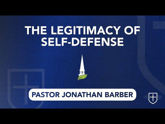 The Legitimacy of Self-Defense