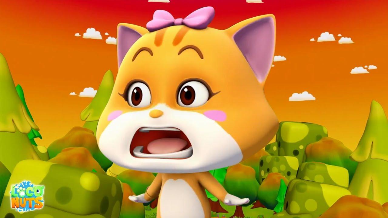 Страшный Вудс   Дошкольные видео   забавные шоу   Loco Nuts Russia   мультфильмы для детей