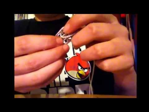 How to make a bracelet out of can tabs