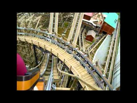 에버랜드 티 익스프레스 EVERLAND Resort  in KOREA.  Roller Coster  Attraction