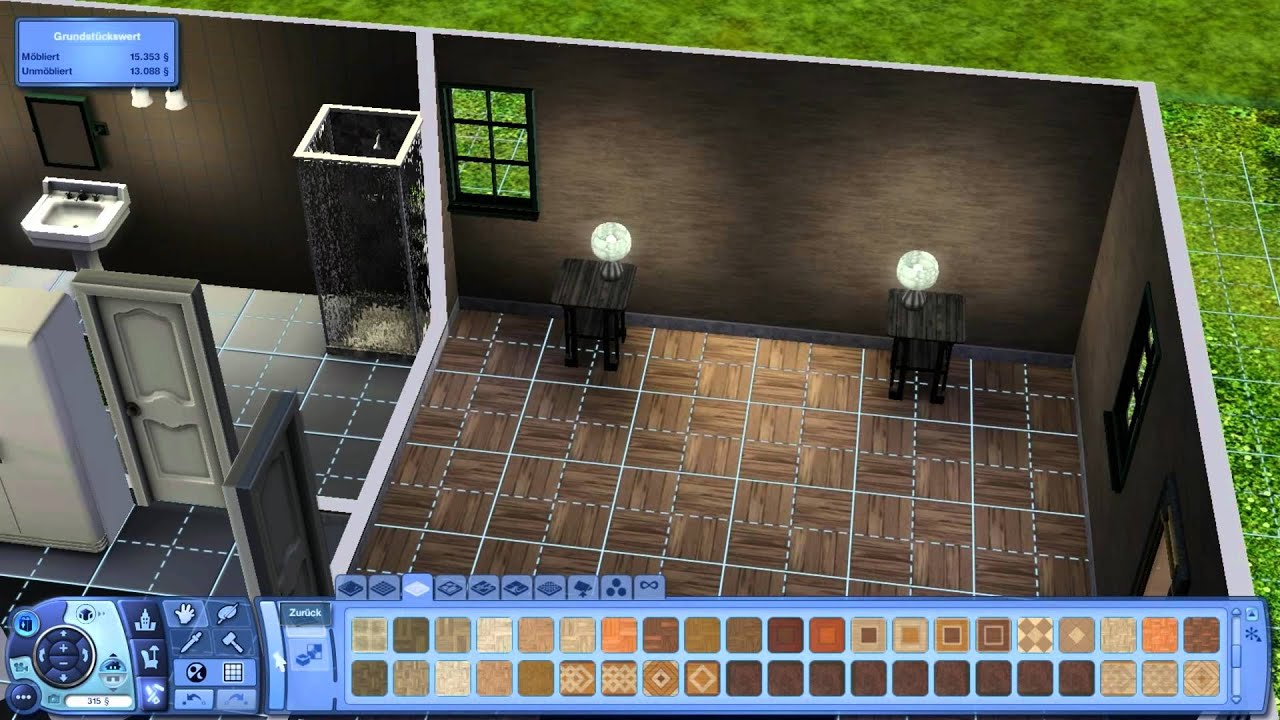 let s play sims 3 007 innenarchitekt brimex youtube. Black Bedroom Furniture Sets. Home Design Ideas