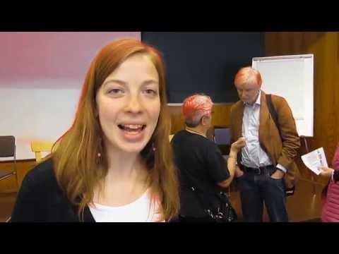 Li Andersson Suomen sosiaalifoorumissa 2014