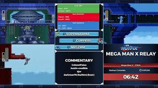 GDQ Hotfix presents Mega Man X Relay