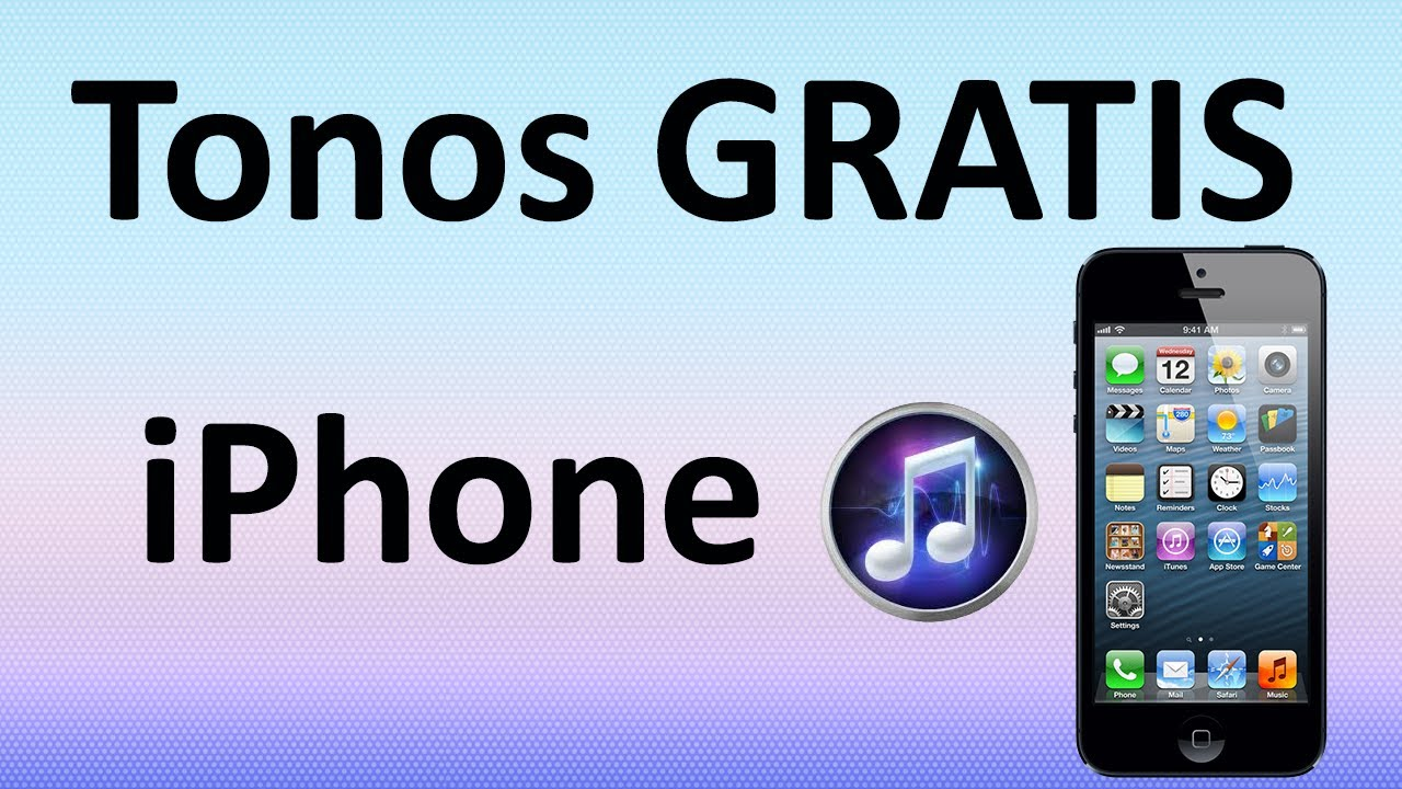 Tonos De Llamada Gratis Para Iphone Youtube