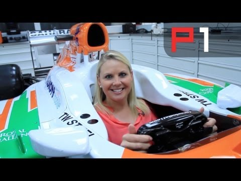 EXCLUSIVE Adrian Sutil - F1 Force India car tour
