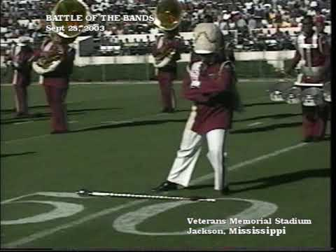 Hazlehurst High School Marching Band at The Battle Of The Bands September 28, 2003