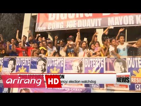 Rodrigo Duterte claims victory in Philippine presidential election