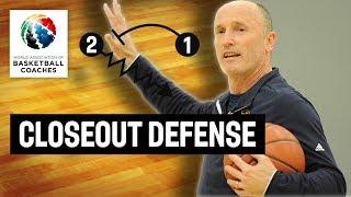 Closeout Defense - Dan Burke - Basketball Fundamentals
