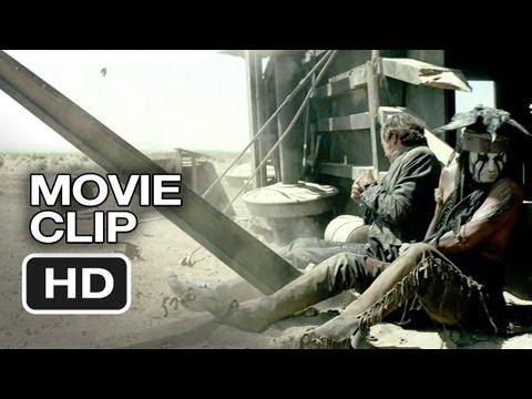 The Lone Ranger   Train Wreck 2013  Johnny Depp, Armie Hammer Western HD