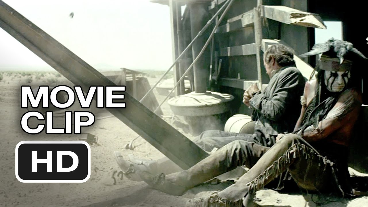 Download The Lone Ranger CLIP - Train Wreck (2013) - Johnny Depp, Armie Hammer Western HD