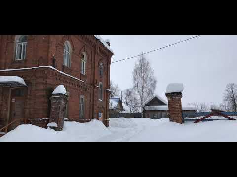 Кологрив. Март 2019 год. Костромская область.