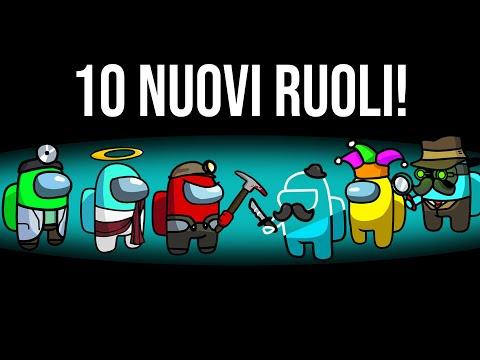 AMONG US CON 10 RUOLI NUOVI! (Among Us mod)