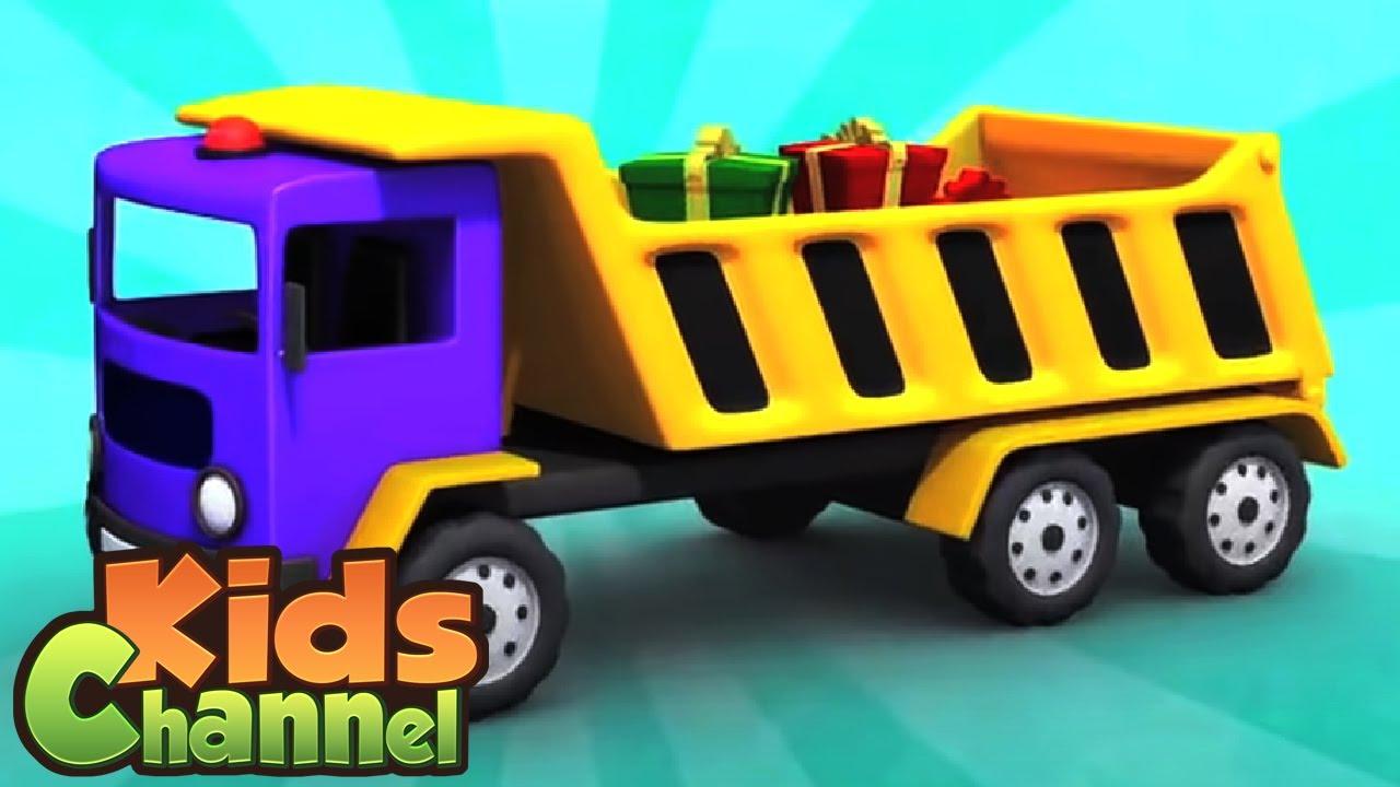 Dumper Truck Toy | Construction Ki Gaadi | Mazedaar Surprise Toy Unboxing | Uppar Pankha Chlata Hai