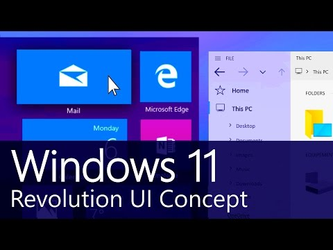 Windows 11 – Fluent Design  – Concept