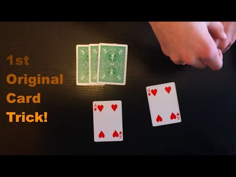 My 1st Original Card Trick! Mind Blowing Card Trick Performance And Tutorial