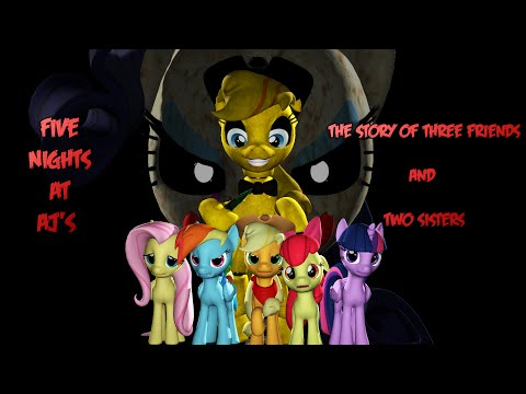 (SFM) Five Nights at Aj's (The story of three friends and two sisters)