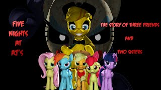 SFM Five Nights at Aj s The story of three friends and two sisters