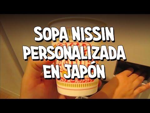 Sopa Nissin Personalizada en Japón