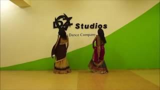 "Gambar cover DZe Dance Studios- ""Barso Re Megha""- Lovely Dance by ""Ravali and Sajna"""
