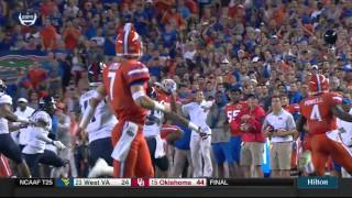Florida vs Ole Miss 2015 Game Highlights