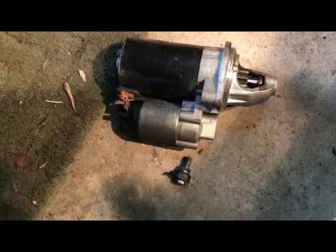 e90 325i starter replacement