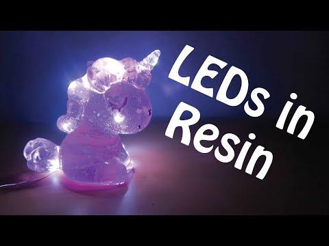LEDs in Resin Tutorial (October 2019 Kawaii Craft Kits)