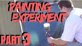 PART 3 C10 PAINTING EXPERIMENT | Rustoleum Paint Job