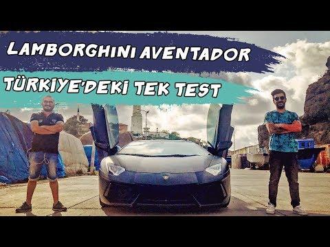 Doğan Kabak | 700 beygirlik Lamborghini Aventador – Türkiye'deki Tek Test!