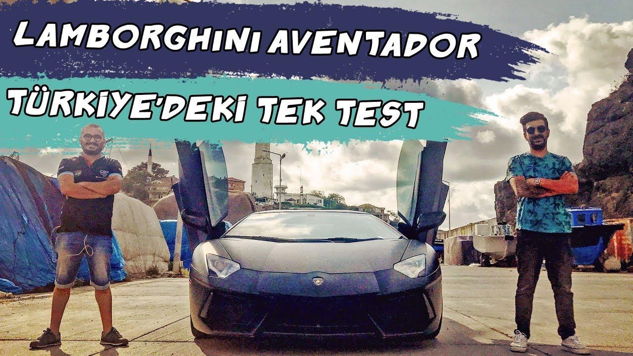 Doğan Kabak | 700 beygirlik Lamborghini Aventador - Türkiye'deki Tek Test!